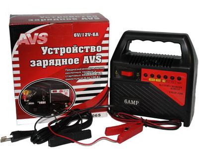 Зарядное устройство AVS 1206